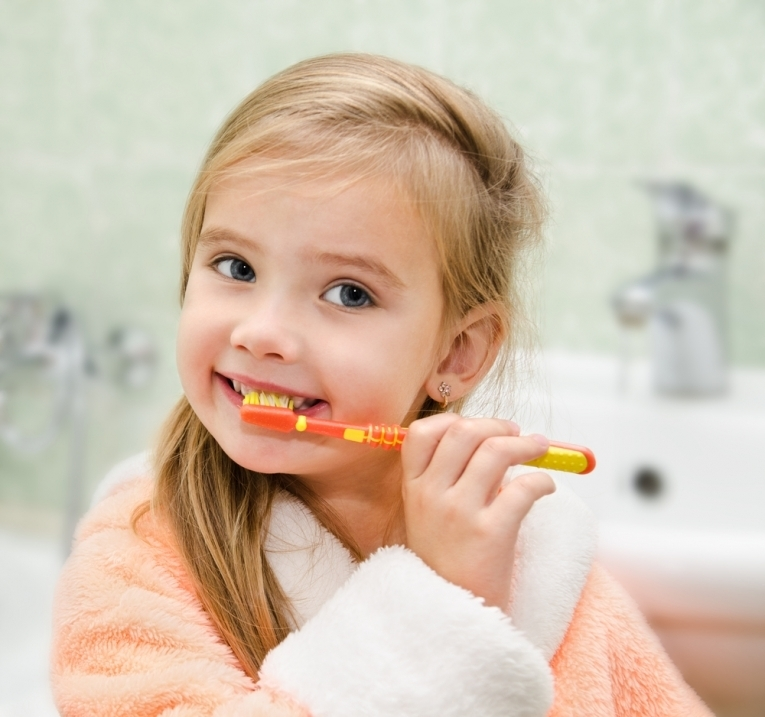 Shutterstock-Children-Girl-Toothbrush